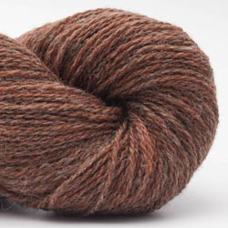 BC Garn Bio Shetland GOTS Rost-Grau