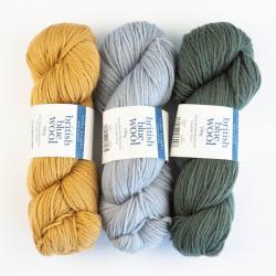 Erika Knight British Blue Wool 100