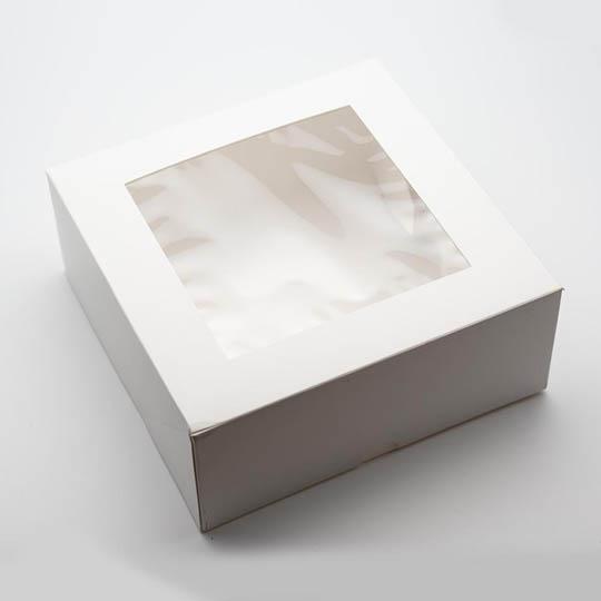 Kremke Soul Wool Schachtel mit Sichtfenster weiß