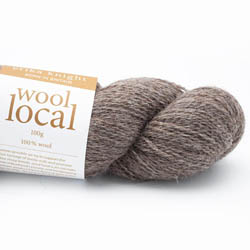 Erika Knight Wool Local 100g Ted Brown