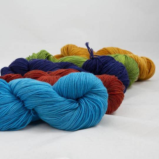 Kremke Soul Wool Lazy Lion Sock Yarn Semi Solid Mix Farb-Mix