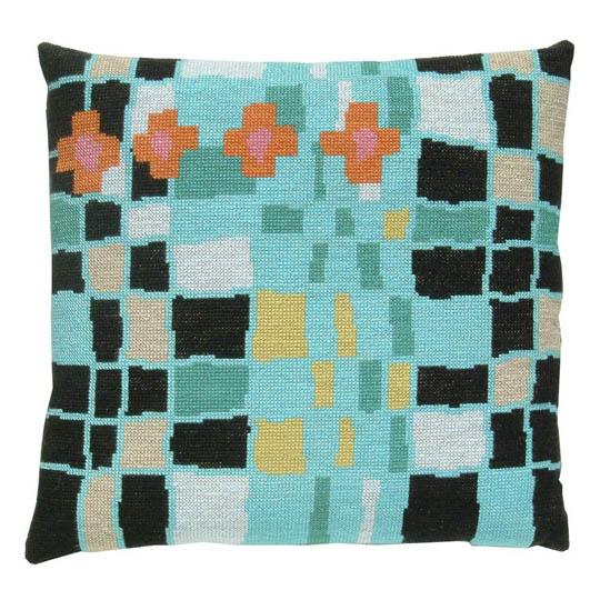 Fru Zippe Pillow Pink and Orange 74 P8