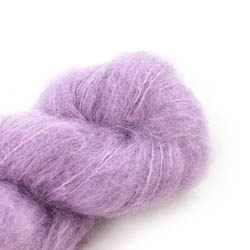 Cowgirl Blues Fluffy Mohair Semi Solids 33-Orchid Blush