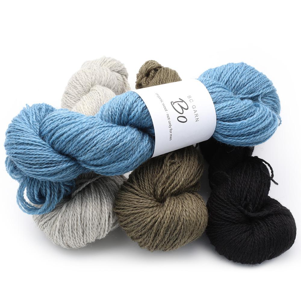 BC Garn Bo - organic wool not only for men