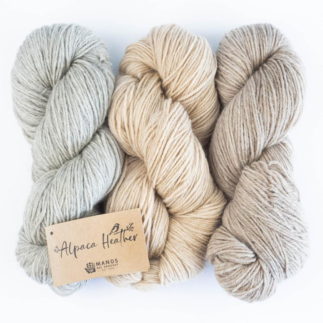 Manos del Uruguay Alpaca Heather Naturals 100g