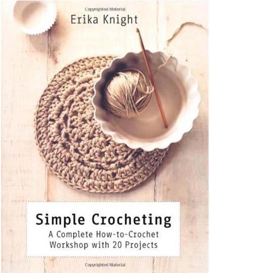 Erika Knight Buch Simple Crochet English