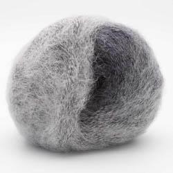 Kremke Soul Wool Baby Silk Fluffy varigated Silber