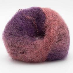 Kremke Soul Wool Baby Silk Fluffy varigated Rosa