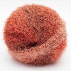 Kremke Soul Wool Baby Silk Fluffy varigated Rostrot