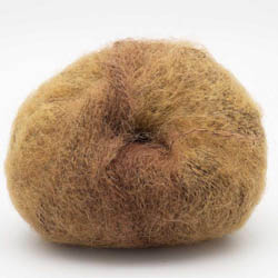 Kremke Soul Wool Baby Silk Fluffy varigated Kamelbraun_0