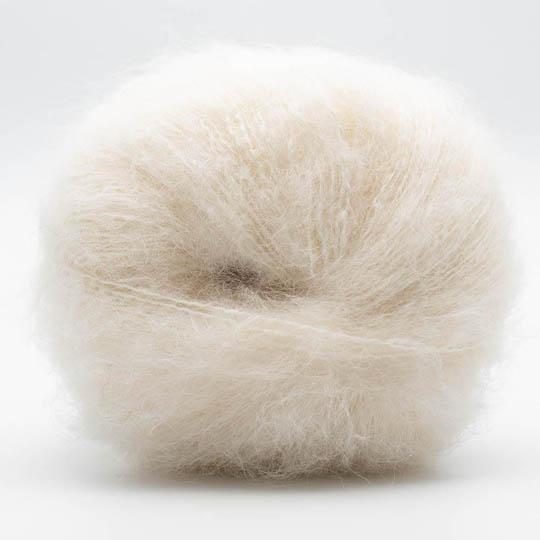 Kremke Soul Wool Baby Silk Fluffy solid White