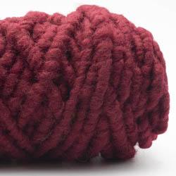 Kremke Soul Wool Rugby Rug Wool dyed Weinrot