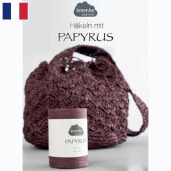 Kremke Soul Wool Papyrus Anleitungsheft  Francais