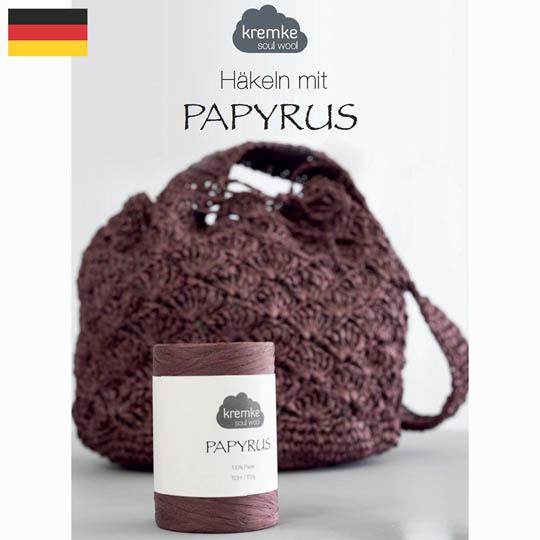Kremke Soul Wool Papyrus Anleitungsheft  Deutsch