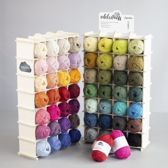 Kremke Soul Wool Shop Display Edelweiss Alpaca