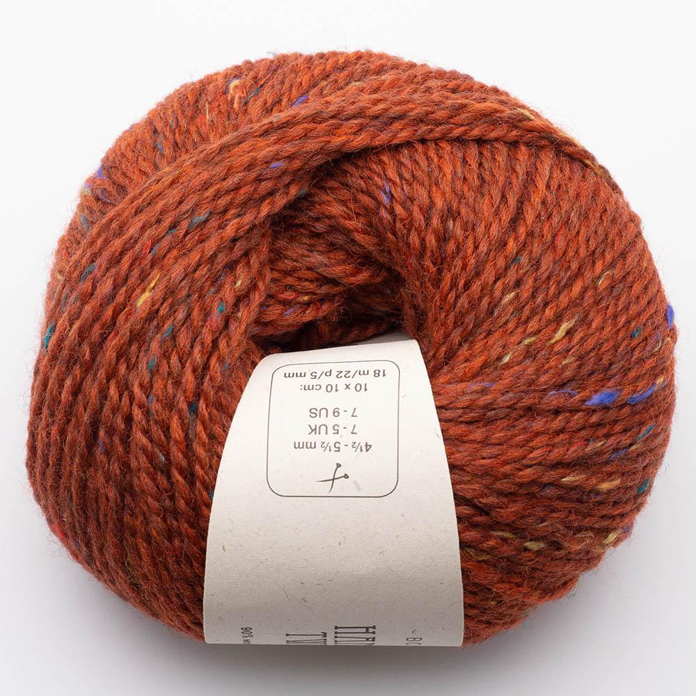BC Garn Hamelton Tweed 1 rotorange