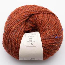 BC Garn Hamelton Tweed 1 red orange