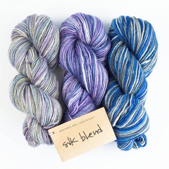 Manos del Uruguay Silk Blend - gradient Cinquenta