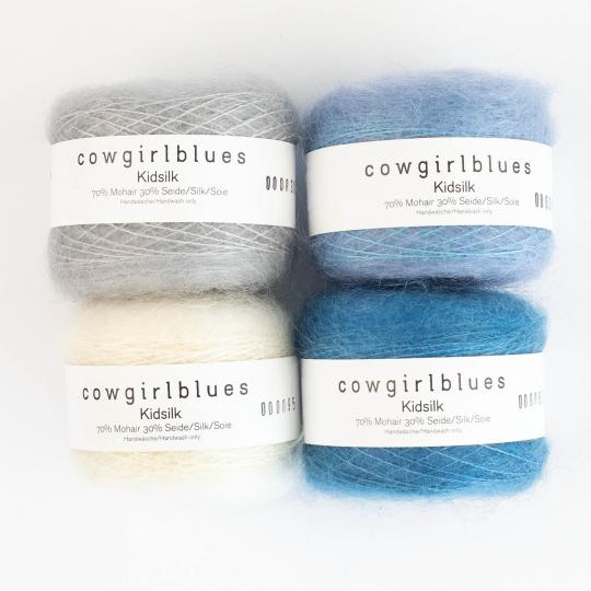 Cowgirl Blues Kid Silk solid Natural