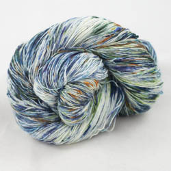 Cowgirl Blues Merino Single Lace gradient 9 to 5