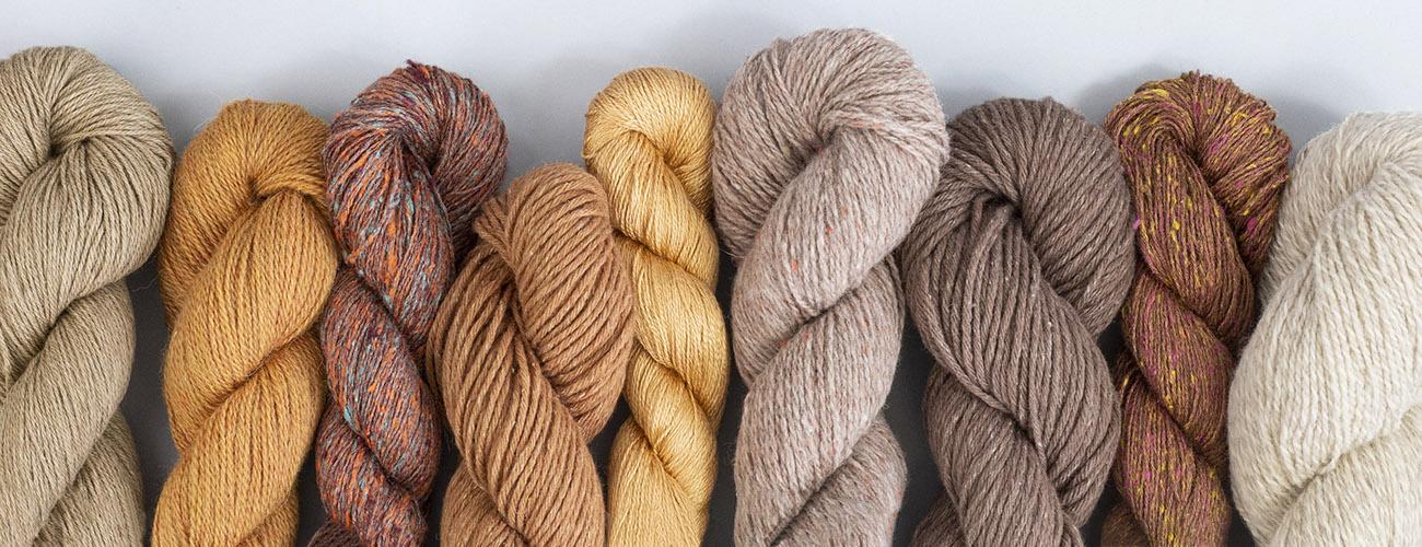 Organic yarn by BC Garn